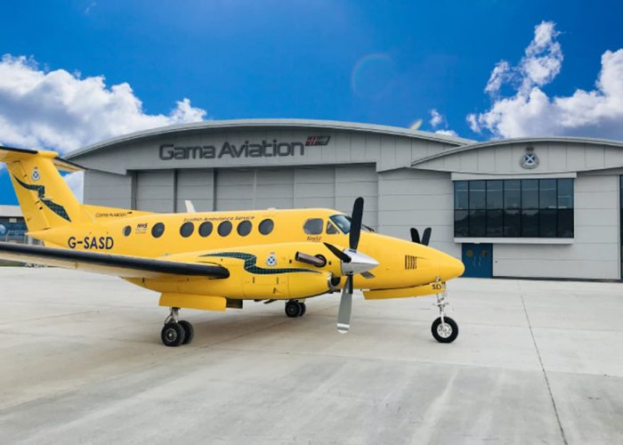 Gama Aviation opens air ambulance support centre