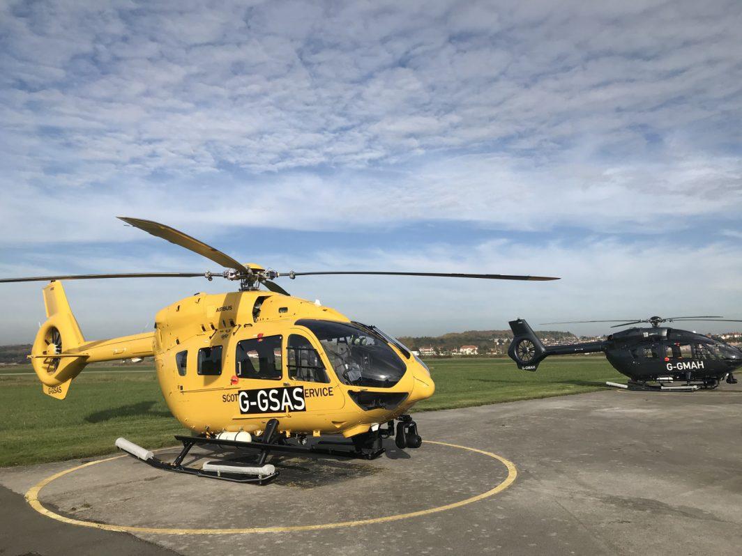 Air ambulance H145 Gama Aviation