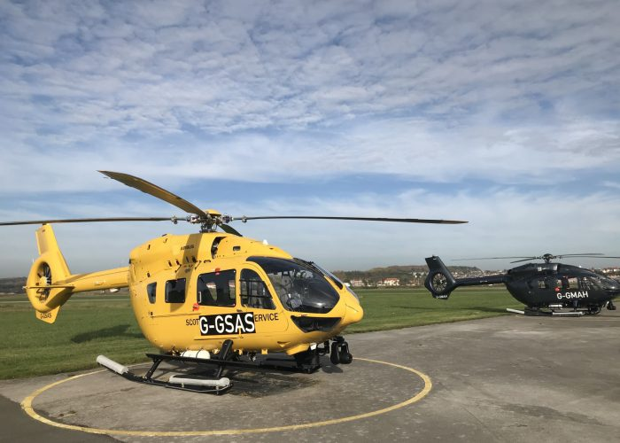 Air ambulance H145 Gama Aviation