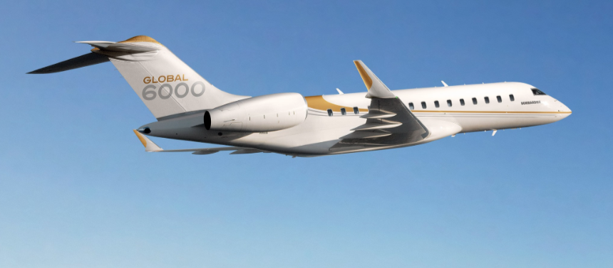 Bombardier Global 6000 enters Asia fleet