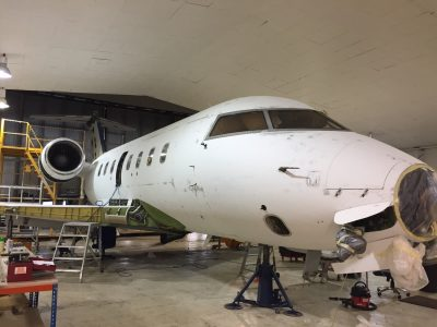 Challenger 604 96 month check & refurbishment