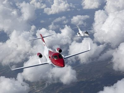 Gama Aviation Signature adds two charter HondaJets to business jet fleet