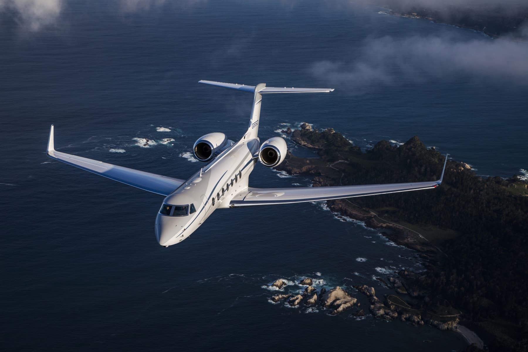 Gulfstream 550 6