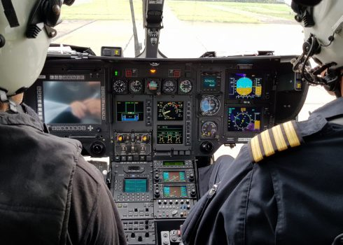 H145 AIRS modification