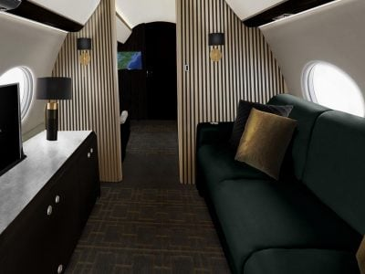 Designing a stunning aviation interior