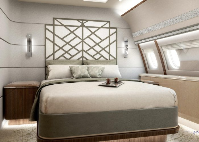 A320 bedroom MBG International Design