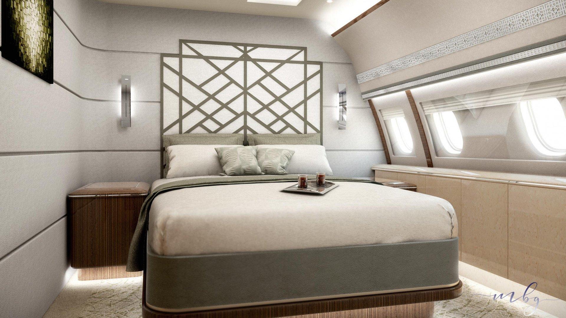 A320 bedroom MBG International Design