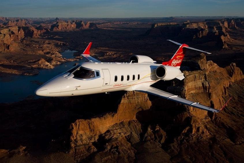 Bombardier Learjet series