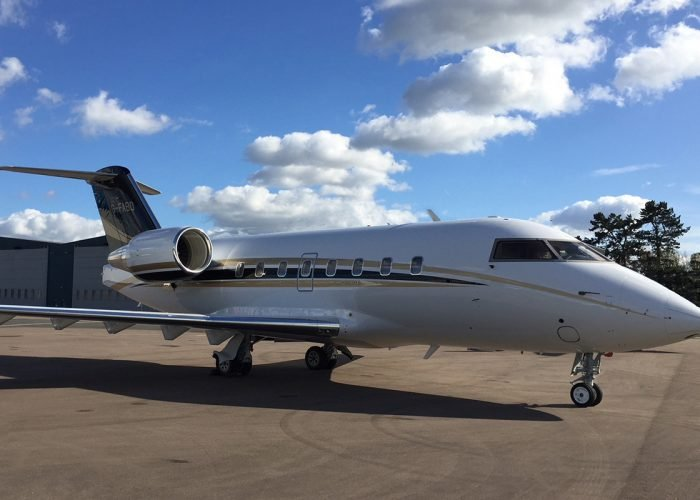 Bombardier Challenger 604 joins our charter fleet