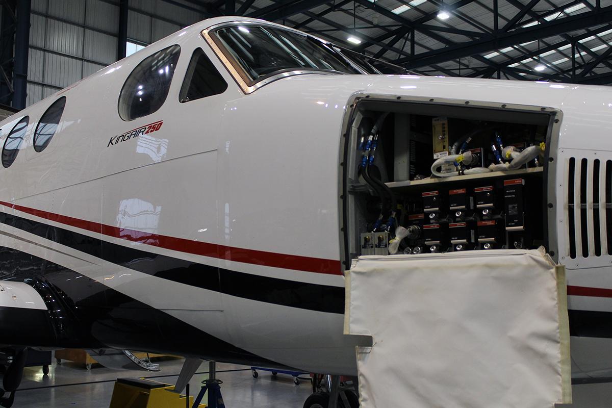King Air ADSB