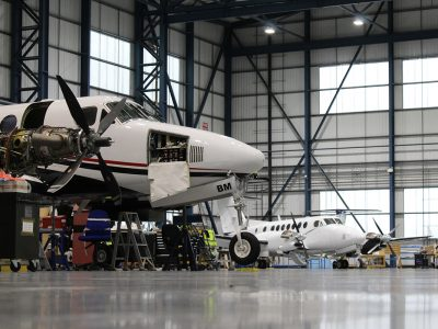 Maintaining the King Air Platform