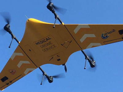 Drones in medical services